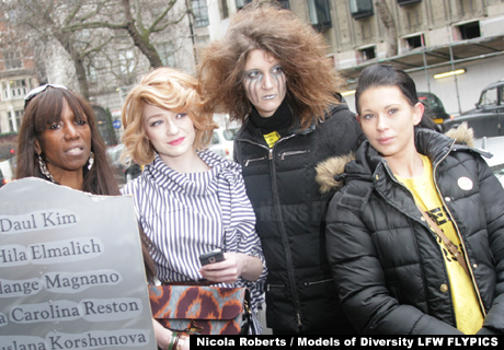 Nicola Roberts and models of diversity
